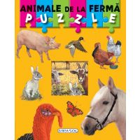 Carte Puzzle Girasol, Animale de la Ferma