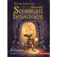 Saga celor cinci taramuri. Cartea a doua: Secretul scorburii intunecate, Kieran Larwood