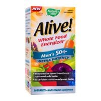 Alive Men's 50+ Ultra, 30 tablete filmate, Nature's Way, Secom