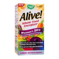 Alive Women's 50+ Ultra, 30 tablete filmate, Nature's Way, Secom