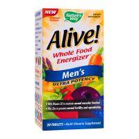 Alive Men's Ultra, 30 tablete filmate, Nature's Way, Secom