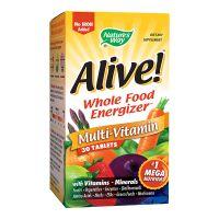 Alive fara fier adaugat, 30 tablete, Nature's Way, Secom
