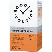 Synergize-Your-Gut, 30 capsule vegetale, Good Routine, Secom