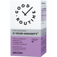 SECOM-200010_001w C-Your-Immunity, 30 capsule vegetale, Good Routine, Secom