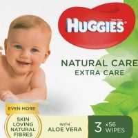 Servetele umede Huggies Natural Care Extra Care Triplo