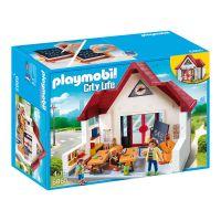 Set de constructie Playmobil City Life - Scoala (6865)