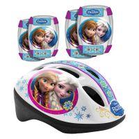 Set de protectie si casca Disney Frozen 240507