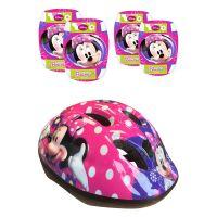 Set de protectie si casca Minnie Mouse 863506_1
