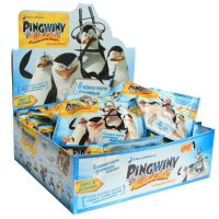Set figurine in punguta Pinguinii din Madagascar