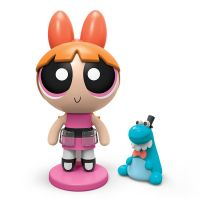 Set figurine Powerpuff Girls Blossom si animalut