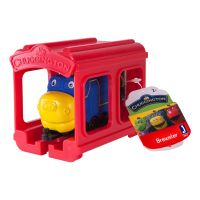 Set locomotiva si garaj Chuggington - Brewster