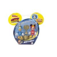Set minifigurine MIckey si Donald pe podium