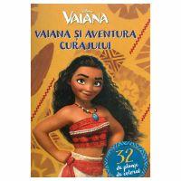 Set planse de colorat (32) Disney - Vaiana si aventura curajului