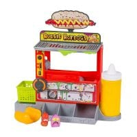 Set tematic cu figurine The Grossery Gang S2 - Hot Dog Machine