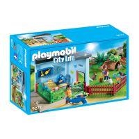 Set 2 figurine Playmobil - Hotel pentru iepurasi si hamsteri (9277)