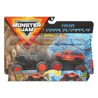 Set 2 masini Monster Jam, Color Change, Max-D si Radical Rescue, 164