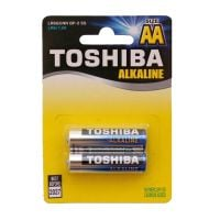 Set 2 baterii alkaline Toshiba R6 Blu Line AA