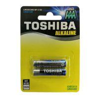 Set 2 baterii alkaline Toshiba R3 Blu Line AAA
