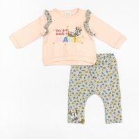 Set bluza cu maneca lunga si pantaloni lungi, Zippy, Disney Baby 20212581