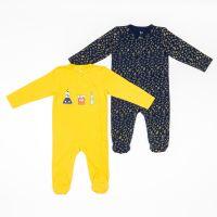 Set body bebe cu maneci lungi si imprimeuri frontale, Zippy 20212482