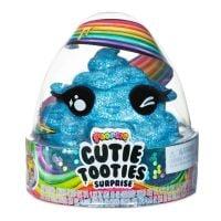 Set figurina surpriza si gelatina Poopsie Cutie Tooties Surprise, S2, Albastru
