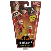 Set Figurine Incredibles 2 - Dash si Jack-Jack, 10 cm 1