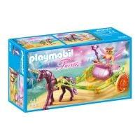 Set figurine Playmobil Fairies - Trasura cu unicorn si zane (9136)