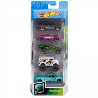Set masinute Hot Wheels, Speed Blur, FYL13 (5 modele)