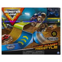 6045029_001w Set masinuta Monster Jam Champ Ramp Freestyle Son-uva Digger