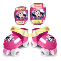 Set patine cu rotile si accesorii protectie Disney Minnie J862035