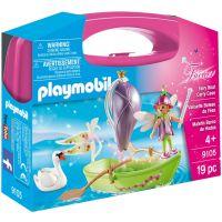 Set portabil Playmobil Fairies - Barcuta cu zane (9105)