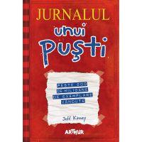 SETPUSTIPB_001w Carte Editura Arthur, Jurnalul unui pusti. Volumele 1-4, Jeff Kinney