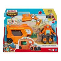 Set Transformers Figurina cu vehicul Rescue Bots Academy, Wedge Rescue Trailer, E7180