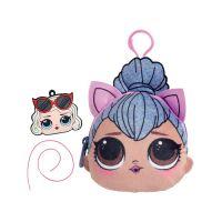 SQ001-06_001w Gentuta cu fermoar LOL Squishy Plus, Kitty Queen