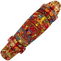 SRTV0292-16_001 Penny board cu roti luminoase Action One, Azteca, 22 inch