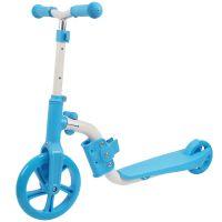 SRTV0330-3_001 Trotineta 2 in 1 (trotineta  bicicleta) Action One, Albastru