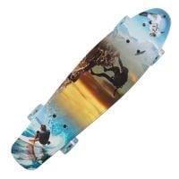 SRTV0342-1_001 Penny Board cu roti luminoase Action One, 22 inch, 90 Kg, Summer