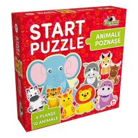 Start Puzzle Noriel 4 in 1 - Animalute poznase