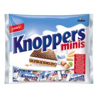 STKKNOP200S_001w Napolitane mini crocante Knoppers, 200 g