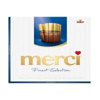 STKMERA250_001w Praline de ciocolata asortata Merci, Albastru, 250 g