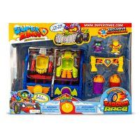 SZ9002_001w Set de joaca cu 2 figurine SuperZings, Cursa Kaboom