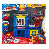 SZ9003_001w Set de joaca cu 2 figurine SuperZings, Sectia de politie