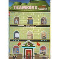 Carte de colorat unitati militare Girasol - Colectia Teamboys