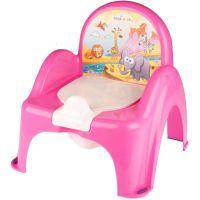 Mini toaleta Tega-Baby Safari, Roz SF-010-127