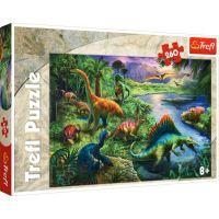 Puzzle Trefl 260 piese, Dinozauri