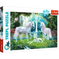 Puzzle Trefl 260 piese, Unicorni
