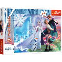 TF13265_001w Puzzle Trefl 200 piese, Lumea magica a surorii, Disney Frozen 2