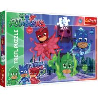 TF14262_001w Puzzle Maxi Trefl, Pj Masks, Eroii ascunsi, 24 piese