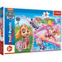 TF14307_001w Puzzle Maxi Trefl, Paw Patrol, Eroina Skye, 24 piese