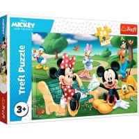 Puzzle Trefl 24 maxi, Mickey Mouse printre prieteni